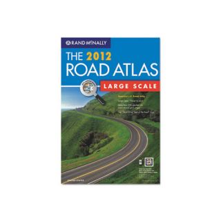American Map 2012 United States Road Atlas, Large Type, Soft Cover