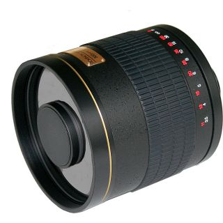 Rokinon 500mm f/6.3 Black Diamond Mirror Lens for Pentax