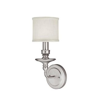 Capital Lighting Midtown Collection 1 light Matte Nickel Wall Sconce