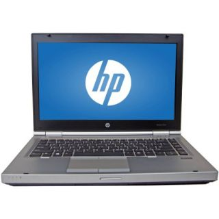 "Refurbished HP Silver 14"" Elitebook 8470P Laptop PC with Intel Core i5 3320M Processor, 8GB Memory, 256GB SSD and Windows 7 Professional"