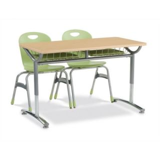 Text Series Rectangular Classroom Table