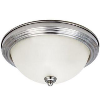 Sea Gull Lighting 77063S Ceiling Fixtures Ceiling Flush Mount Indoor Lighting Flush Mount ;Brushed Nickel