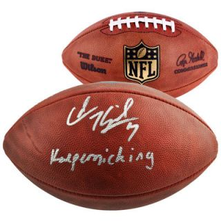 Colin Kaepernick San Francisco 49ers  Authentic Autographed Pro Football with Kaepernicking Inscription