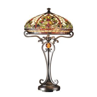 Dale Tiffany Boehme Antiques Roadshow Series Tiffany 28 H Table Lamp