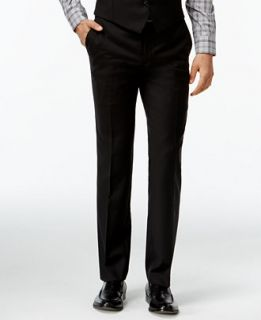 Bar III Black Solid Extra Slim Fit Pants   Suits & Suit Separates