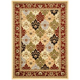 Safavieh Lyndhurst Collection Multicolor/ Red Rug (4 x 6)   14715338