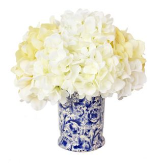 Creative Displays, Inc. Spring Additions Hydrangea Chinoiserie Vase