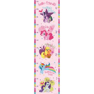 My Little Pony Growth Chart Wall Sticker by WallPops