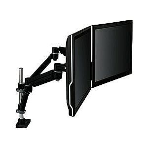 3M Easy Adjust Dual Monitor Arm   Mounting kit ( desk mount, 2 dual articulating arm ) for 2 LCD displays   black