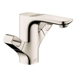 Hansgrohe Axor Urquiola Single Hole 1 Handle Bathroom Faucet in Polished Nickel 11024831