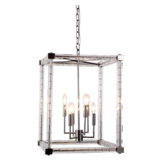 Elegant Lighting Cristal Collection 1461 Pendant Lamp with Polished