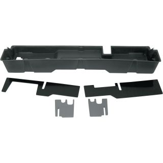 DU-HA Truck Storage System — Ford F-150 Supercab, Fits 2000-2003 Models, Dark Gray, Model# 20007  Interior Storage