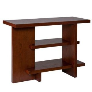 Southern Enterprises Basil Espresso Console Table 2097831