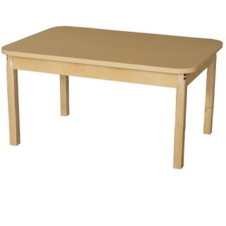 44 x 30 Rectangular Classroom Table by Wood Designs