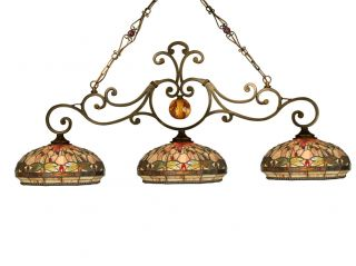 Dale Tiffany TH10100 Antique Golden Sand Chandelier