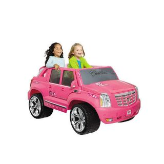 Power Wheels Barbie Cadillac Hybrid Escalade EXT Ride On   Pink    Power Wheels