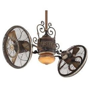 Minka Aire MAI F502 BCW Gyro Belcaro Walnut  Ceiling Fans Lighting