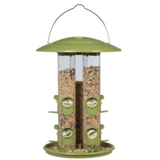 Perkey Pet Triple Tube Bird Feeder (369)   Feeders & Houses