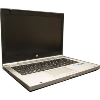 "HP Refurbished Silver 14.1"" 8460P Laptop PC with Intel Core i5 Processor, 4GB Memory, 256GB SSD and Windows 7 Professional"