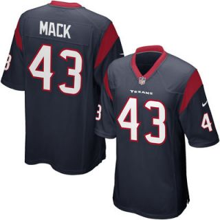 Nike Youth Houston Texans Elbert Mack Team Color Game Jersey