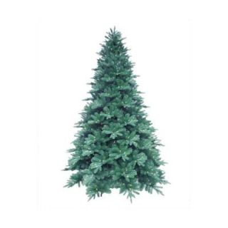 7.5 ft. Blue Noble Spruce Artificial Christmas Tree with 600 Clear LED Lights 7208006 51