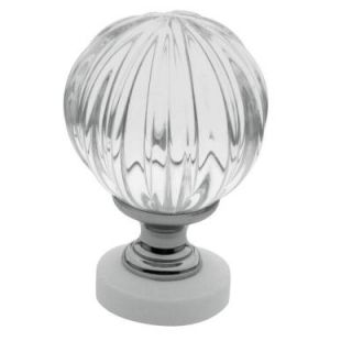 Baldwin 1 7/16 in. Polished Chrome Round Cabinet Knob 4305.260