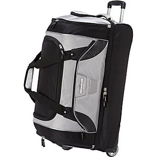 Travelers Club Luggage 30 2 Section Drop Bottom Rolling Duffel