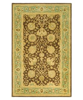 Safavieh Antiquities AT21G Area Rug   Brown/Green   Area Rugs