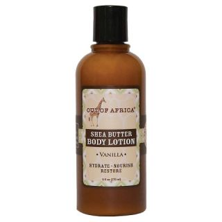 Out of Africa Shea Butter Body Lotion Vanilla   9 oz