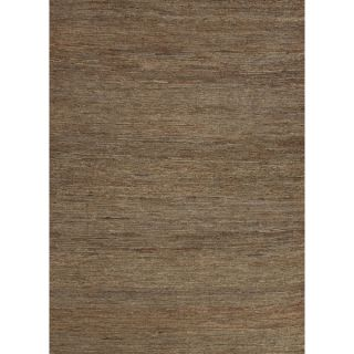 Naturals Solid Pattern Green (8x10)   HU05 Area Rug   16957600
