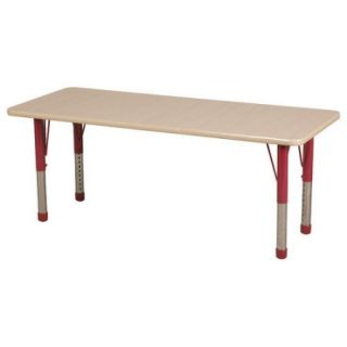 ECR4Kids 60'' x 24'' Rectangular Classroom Table