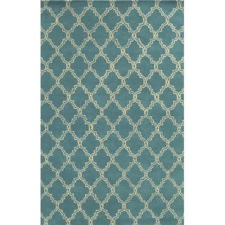 Wildon Home Anithah Hand Tufted Sky Blue Area Rug
