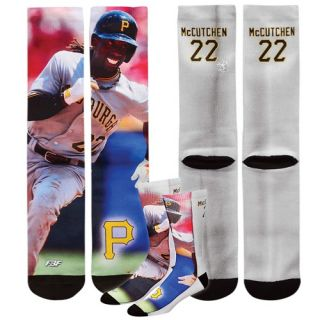 For Bare Feet MLB Sublimated Player Socks   Mens   Accessories   Pittsburgh Pirates   Multi