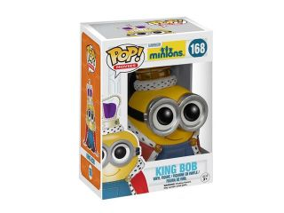 Minions King Bob Pop! Vinyl Figure by Funko