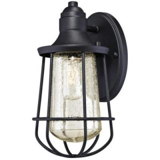 Westinghouse Elias Textured Black Outdoor Wall Lantern 6202900