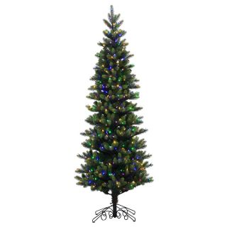 Vickerman 7.5 Royal Spruce Christmas Tree with 600 LED Multi Colored
