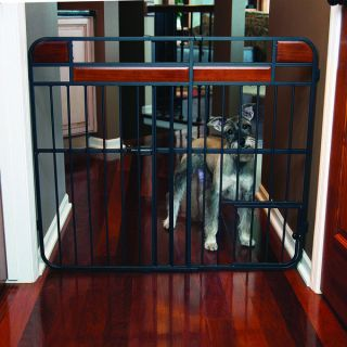 Carlson Expandable Design Studio Extra Tall Wood Metal Gate   14491269