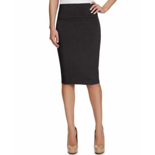 Miss Tina Womens Pull On Pencil Skirt