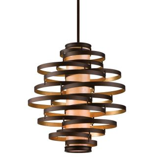 Corbett Lighting 113 44 Bronze / Gold Leaf Pendant Light