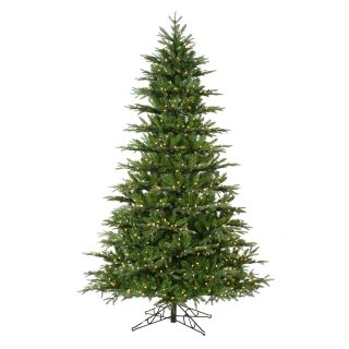 Natural Cut Self Shaping Frasier Fir Full Pre lit Christmas Tree