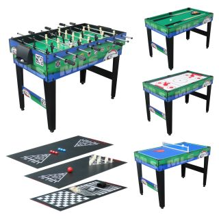 Triumph Sports 48 in. MLS 10 in 1 Combo Table   Multi Game Tables