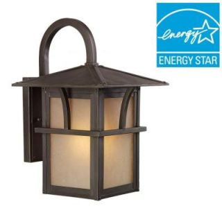 Sea Gull Lighting Medford Lakes 1 Light Statuary Bronze Outdoor Wall Mount Fixture 88881BLE 51