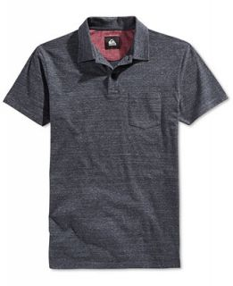 Quiksilver Mens Martini Heathered Polo   Polos   Men