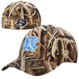 North Carolina Tar Heels Top of the World Blades Memory Fit Flex Hat – Camo