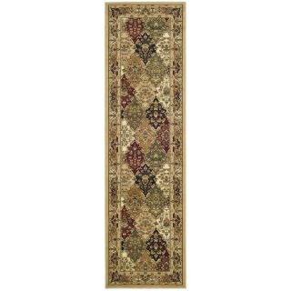 Safavieh Lyndhurst Multi colored/ Black Rug (23 x 22)   15127518