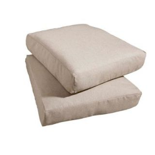 Hampton Bay Marshall Replacement Outdoor Chair Cushion (2 Pack) HD14310