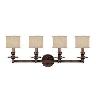 Capital Lighting Midtown Collection 4 light Burnished Bronze Bath