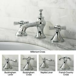 French Country Widespread Chrome Bathroom Faucet   13480560