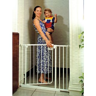 LA Baby Extra Tall Self closing Safety Gate   11452454