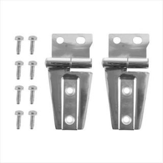 Rugged Ridge   Stainless Steel Hood Hinge Kit    Fits 2007 to 2016 Wrangler, Rubicon and Unlimited